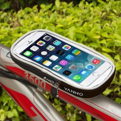 자전거 스마트폰 가방(17x9cm) (블랙)