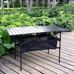 접이식 캠핑 테이블 롤테이블 야외 간이 캠핑용품