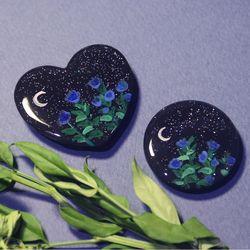 그려낸 달맞이꽃 그립톡 스마트톡 (기본 원 모양)