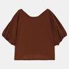 브이넥 볼륨 티셔츠 TRRA20951