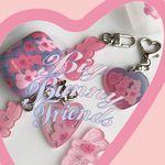 big bunny friends key ring (키링)