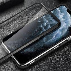 아이폰SE2 마그네틱 슬라이드 커버 하드 케이스 P490