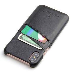 아이폰11 더블 포켓 유니크 컬러 가죽 케이스 P018