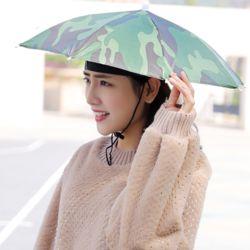 양산 우산모자 30cm