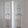 이오니아 기둥 패브릭 포스터(벽장식)