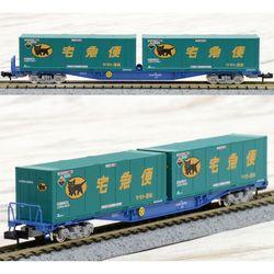 [8737] JR화차 코키 104형 (뉴컬러-야마토 운수 컨테이너 포함)