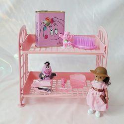 플리징 파스텔 선반 - 베이비 핑크