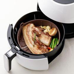 발상 에어프라이어 전용 실리콘 그릇 에프팟 프로 2가지색상 택1