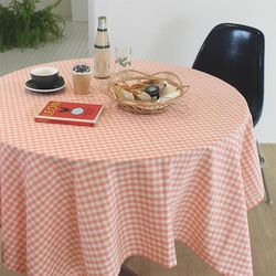 멜란지무드 체크 테이블보 식탁보(5colors)