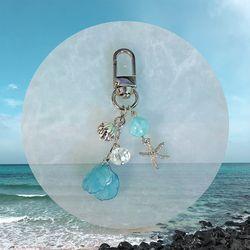 여름바다 키링