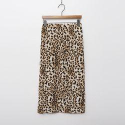 Wave Leopard Skirt
