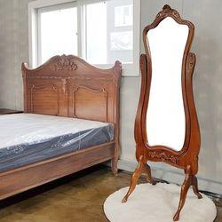 엔틱가구 리옹 전신 거울 엔틱대형거울