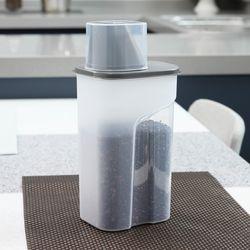 사각 곡물통 냉장고용기(중) 1500ml 2set