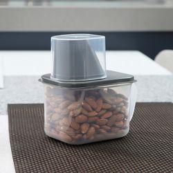 사각 곡물통 냉장고용기(소) 800ml 2set