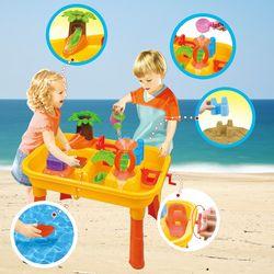 [두로카리스마] 야자수 테이블 모래놀이 목욕물놀이