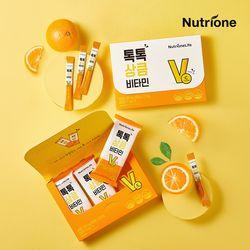 톡톡 상큼 비타민 1박스(1개월분) 비타민C 오렌지맛