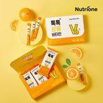 [무료배송] 톡톡 상큼 비타민 1박스(1개월분) 비타민C 오렌지맛