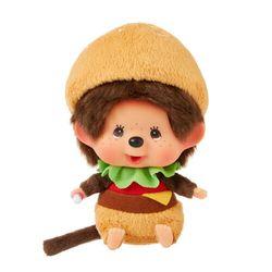 M|@|s BURGER Monchhichi Big Head S Bean-Bag