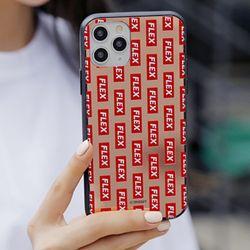 [Try]플렉스 패턴 미러범퍼 케이스.아이폰6(s)