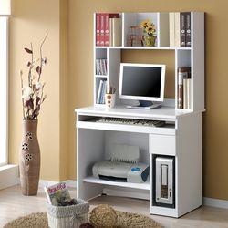 우디스 리디아 800 서랍형 컴퓨터 책상+책꽂이 세트