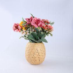 작약꽃 부케 조화 셀프 웨딩 촬영 (3color)