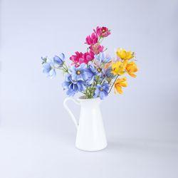 아카시아 조화 꽃다발 장식 (4color)