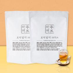 하루허브 대용량 호박팥차 티백 2팩(50Tx2)