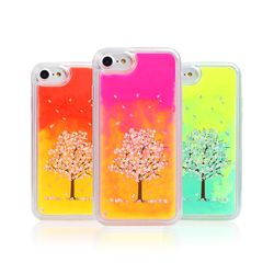 [Try]트라이코지 벚꽃 네온샌드케이스.아이폰7(8)플러스공용