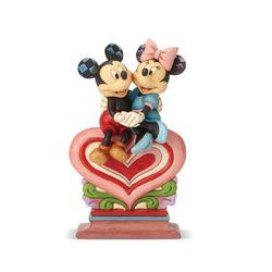 디즈니 하트위 미키와 미니 피규어 22cm