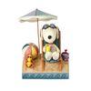 스누피와 해변 친구들 피규어 15cm