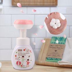 플라워 버블 핸드워시 꽃모양 거품 항균 거품비누