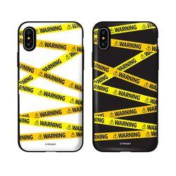 [Try]경고문구 카드도어범퍼케이스.아이폰SE2공용