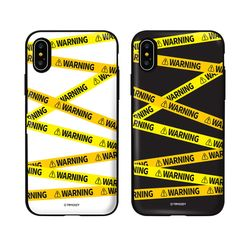 [Try]경고문구 카드도어범퍼케이스.갤럭시S8(G950)