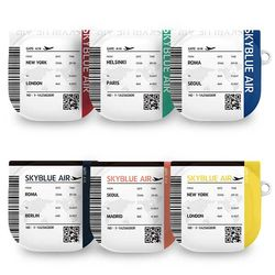 원바디 티켓 갤럭시 버즈 라이브 케이스 하드 커버