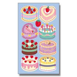 키치 케이크 씰스티커