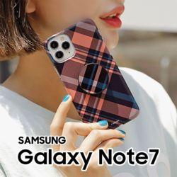 사선체크 갤럭시노트7FE N935 스마트톡 하드케이스
