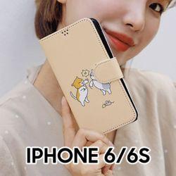 액션냥이댕이 아이폰66S 다이어리 케이스