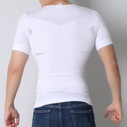 NPF 남자 보정 반팔 속옷 이너 티셔츠