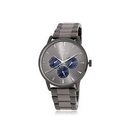 [Timepieces] 꿈 행운 딥그레이 남성 커플메탈시계 OTC120801FEE