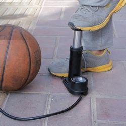 액티브 공기압 자전거 발펌프(블랙)