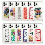 마블 트렌드 로고 클리어케이스-아이폰갤럭시 시리즈