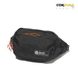 RIPSTOP CORDURA WAIST BAG - BLACK