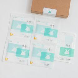 쓰봉선물세트 통째로버리는 음식물쓰레기봉투 쓰봉 5팩