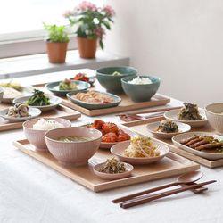 트레이 수저가 포함인 혼밥식기세트 7종