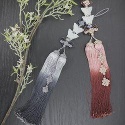 나비옥 매듭 노리개