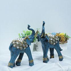081124 블루비즈 코끼리 2p set