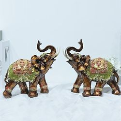 081127  코끼리 장식품 2p set  (대)