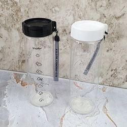 트라이탄 날씨 물병600ml(색상랜덤)