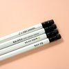 incolor 네임 화이트육각(2B)연필