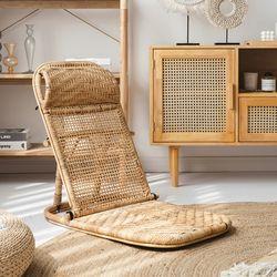 라탄체어 접이식의자 등받이좌식의자 여름방학의자 캠핑의자